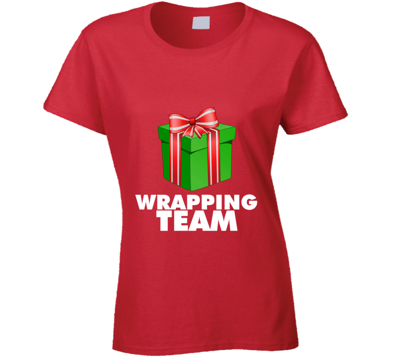 Wrapping Team Ladies T-Shirt