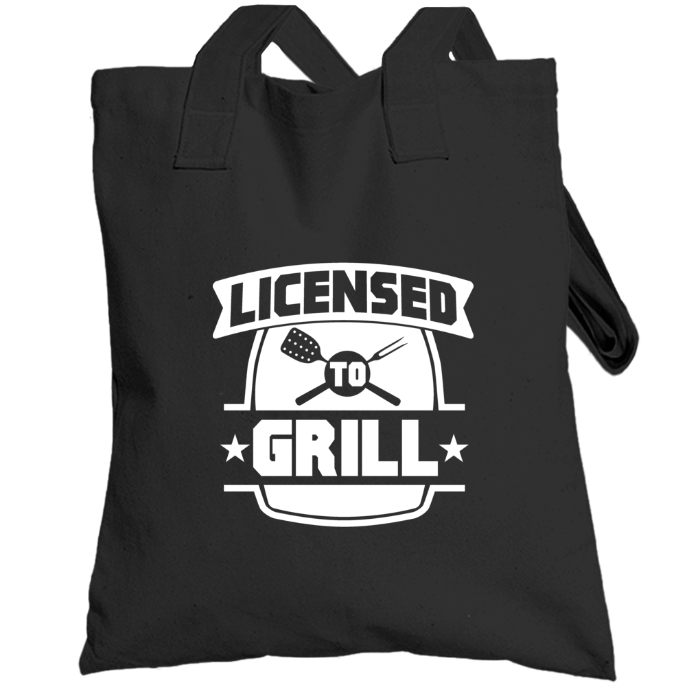 Licensed To Grill Totebag