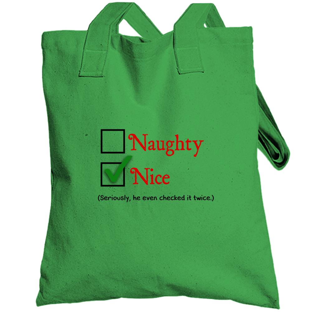 Naughty Nice Totebag