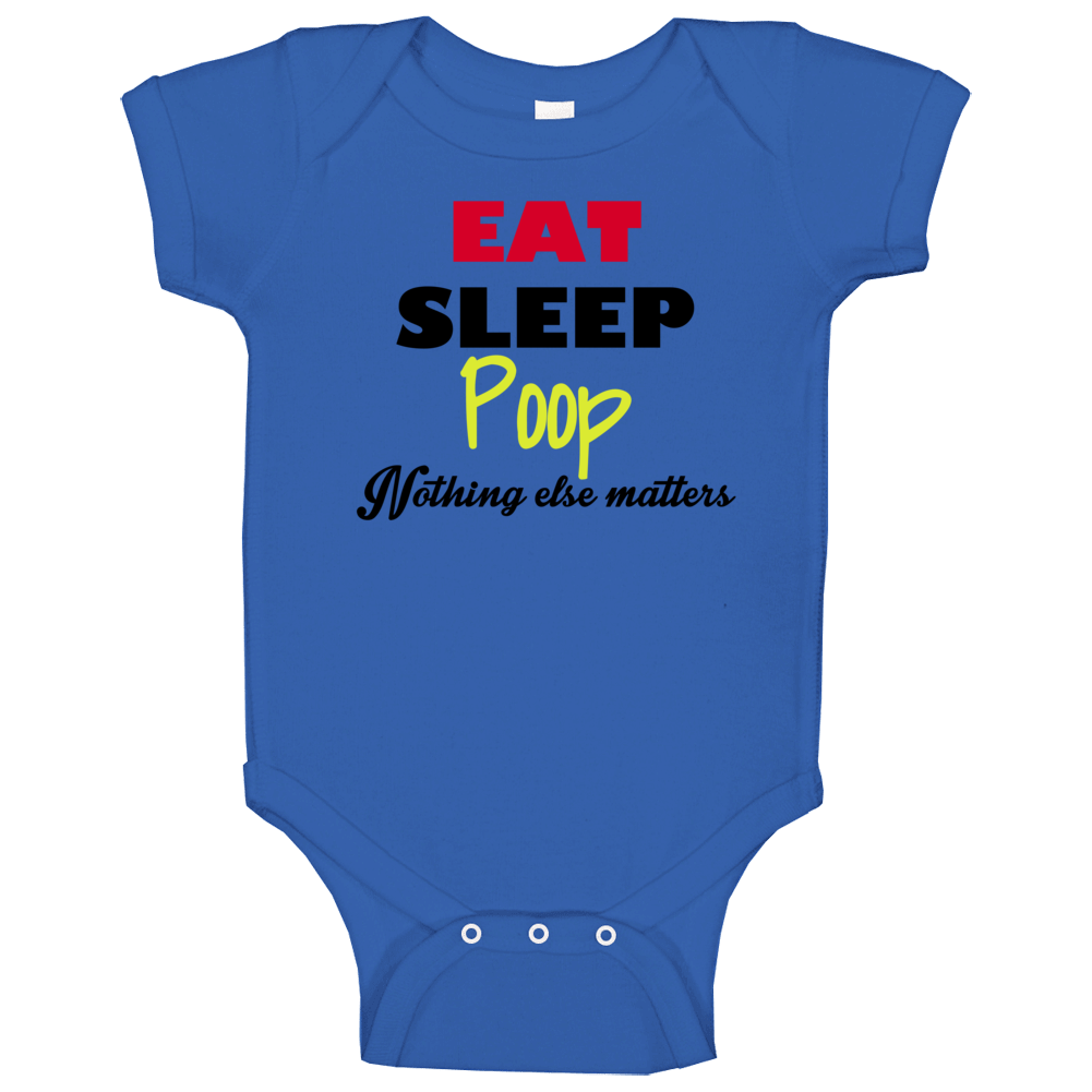 Eat Sleep Poop Baby One Piece