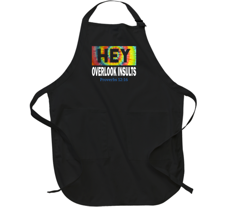 Overlook Insults Apron