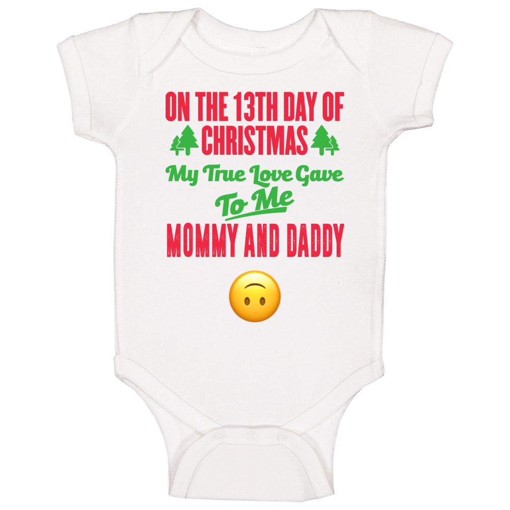 Mommy And Daddy Baby One Piece