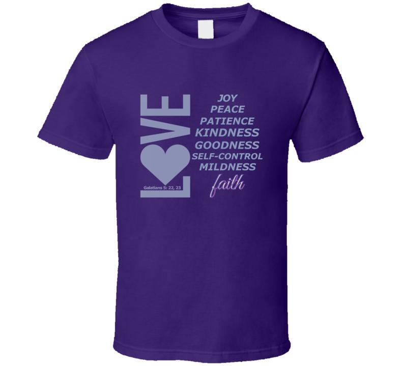 Love, Joy, Peace, Etc-l T-Shirt