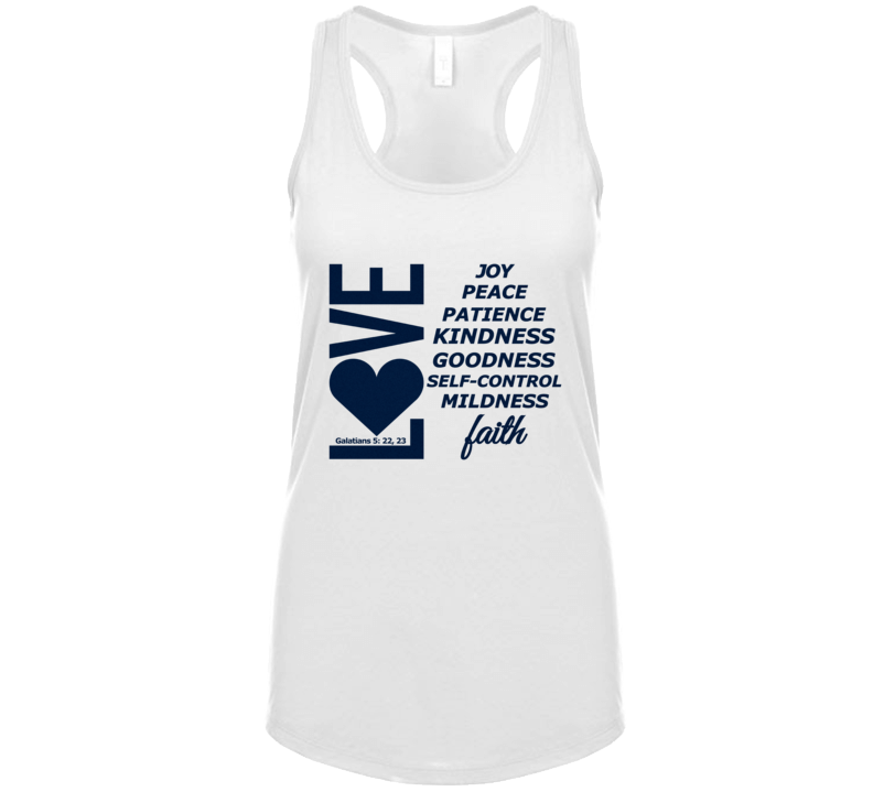 Love, Joy, Peace, Etc-dn Tanktop