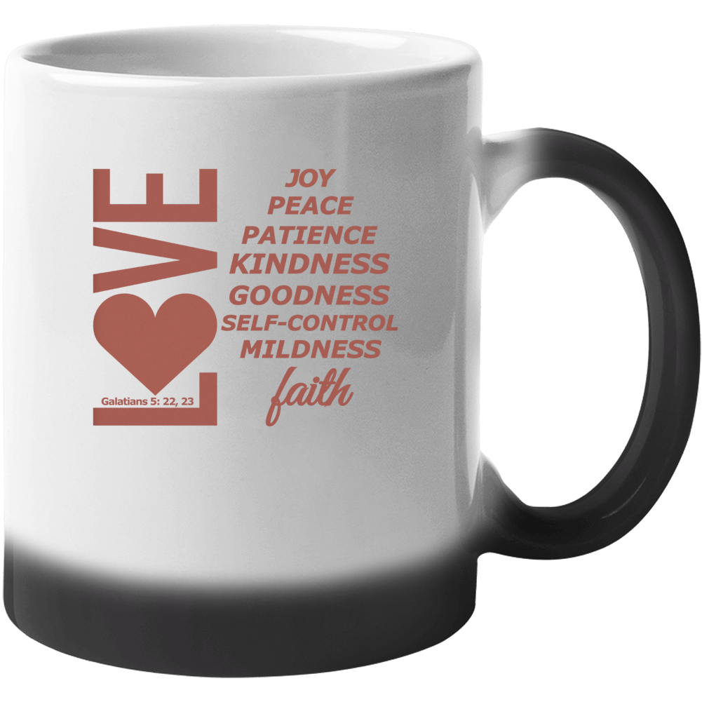 Love, Joy, Peace, Etc-pe Mug