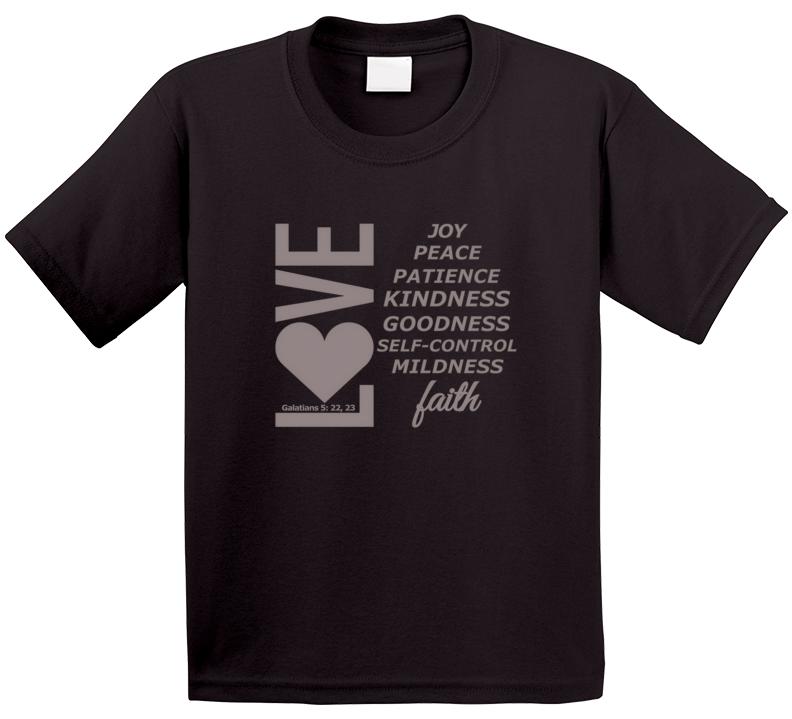 Love, Joy, Peace, Etc-sm Kid T-Shirt