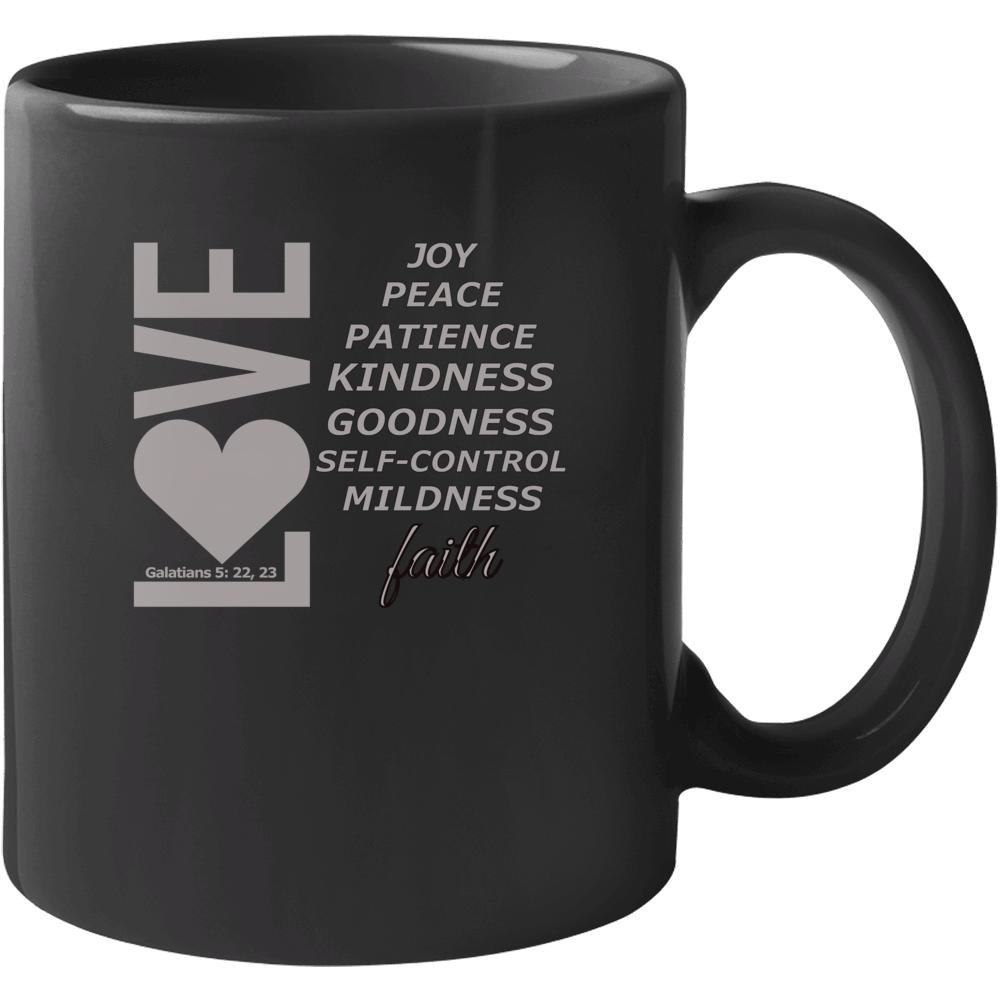 Love, Joy, Peace, Etc-something Mug