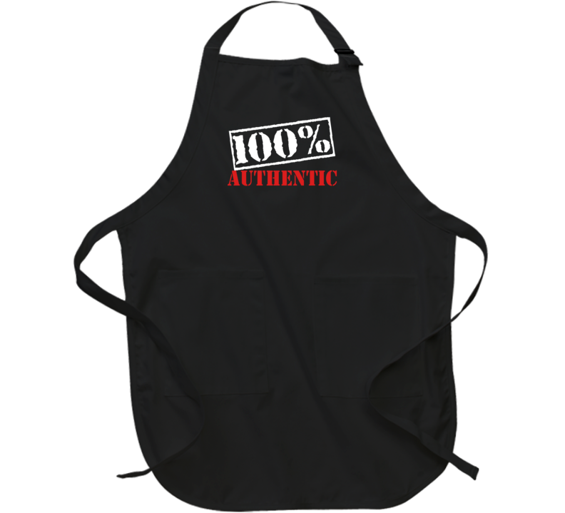 100% Authentic Apron