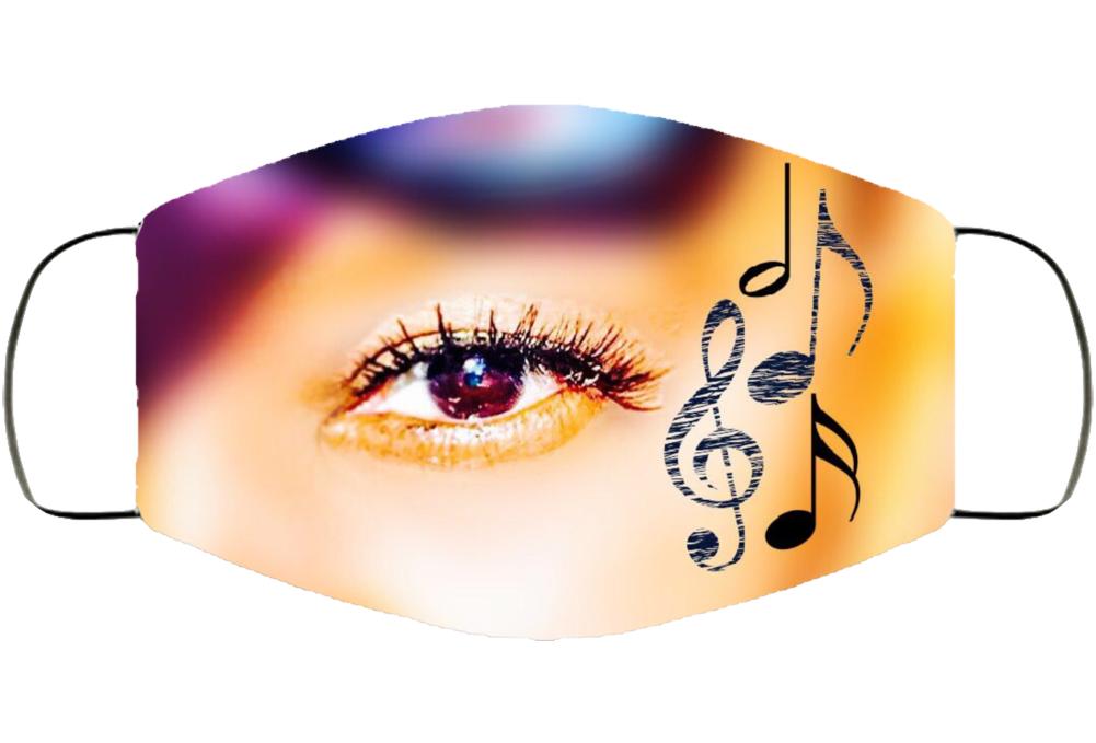 Eye For Music Face Mask Cover