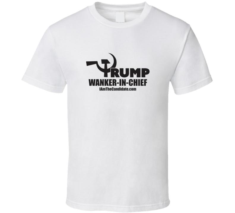 Wanker/white T Shirt