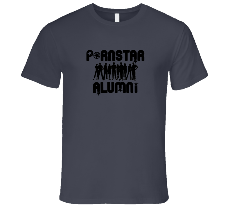 Pornstar Alumni Adult Humor Hollywood Stars T Shirt