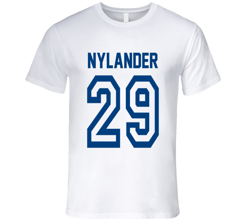 Nhl William Nylander 29 Toronto Maple Leafs T Shirt