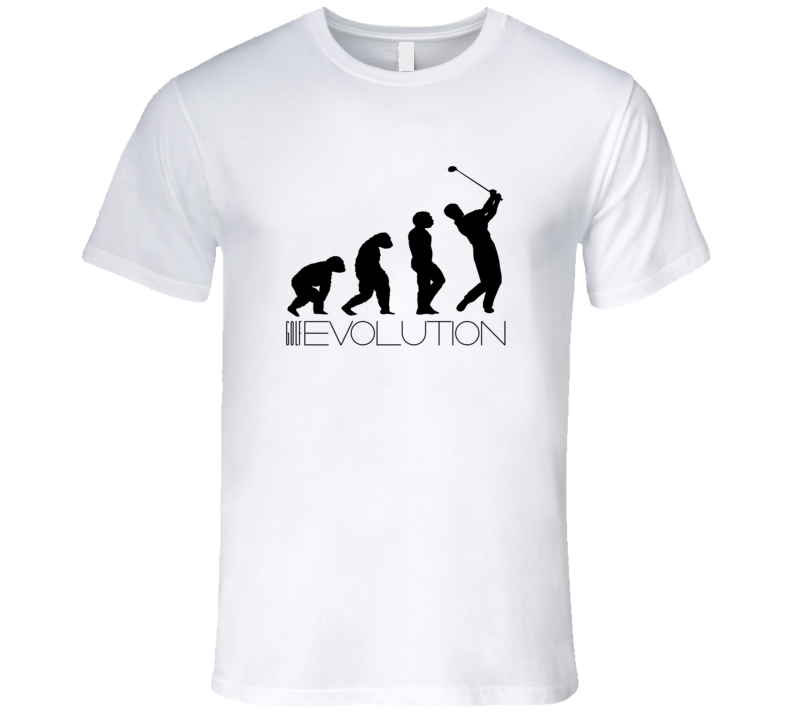 Golf Evolution Sports Funny T Shirt