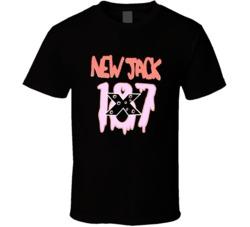 ECW New Jack 187 Retro Wrestling T Shirt