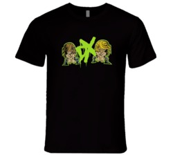 Degeneration X Shawn Michaels Triple H Retro Classic Animation Wrestling T Shirt