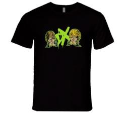 Degeneration X Shawn Michaels Triple H Retro Classic Animation Wrestling T Shirt