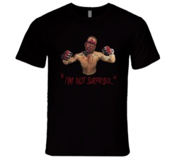 Nate Diaz I'm Not Surprised Mother F$%@* UFC MMA Classic T Shirt