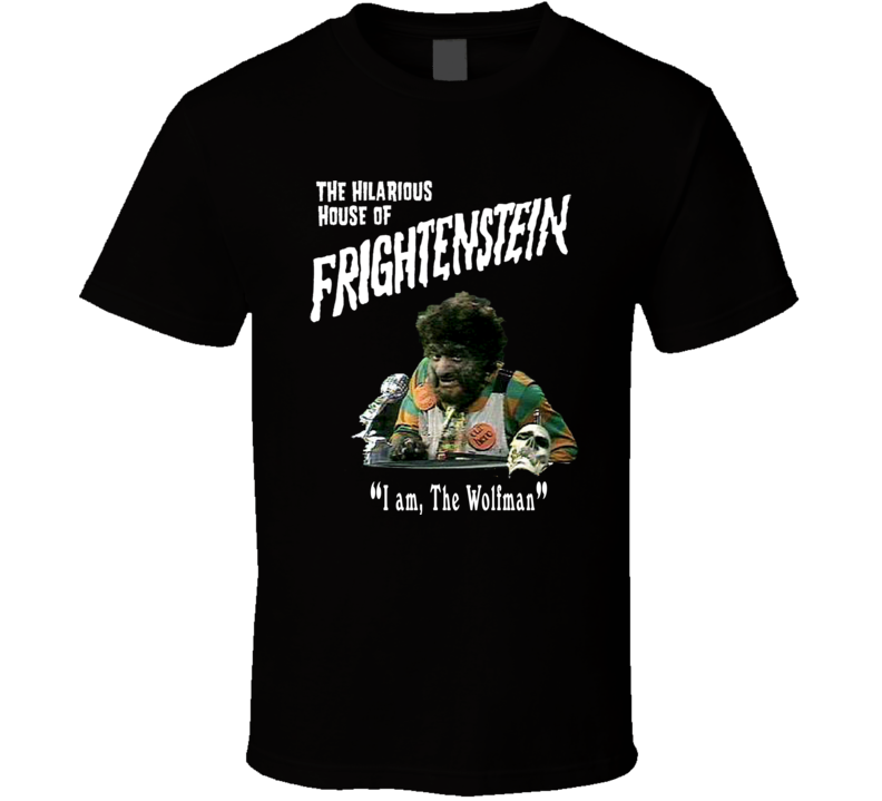 Hilarious House of Frightenstein Wolfman T Shirt
