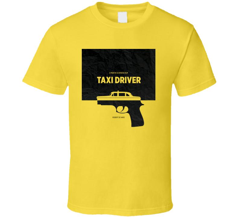 Taxi Driver Robert De Niro Movie Art Poster T Shirt