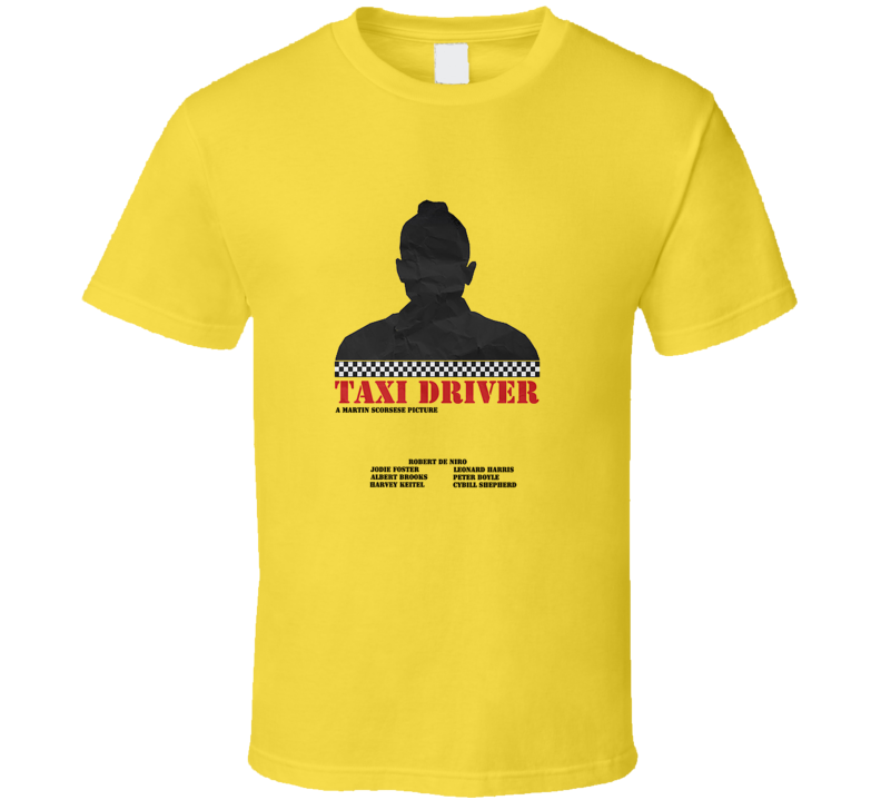 Taxi Driver Art Movie Poster T Shirt