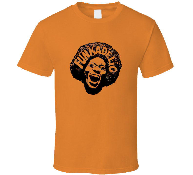 Funkadelic Maggot Brain Funk Parliament George Clinton Music T Shirt