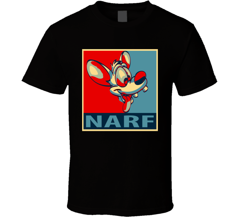 Pinky and the Brain Narf Cartoon T Shirt