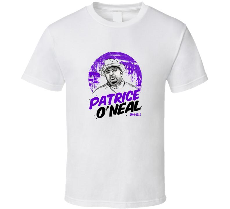 Patrice O'Neal RIP White T Shirt