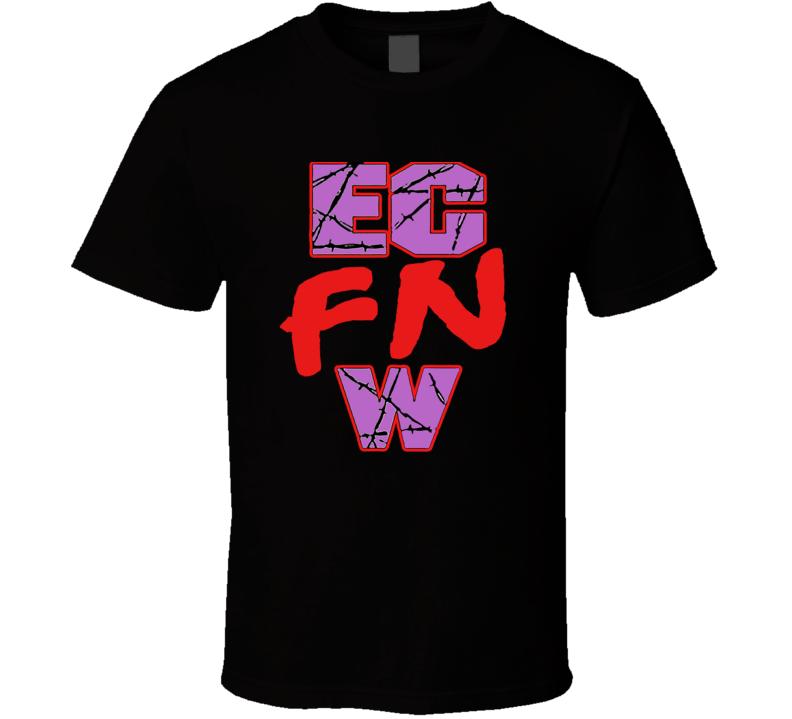 ECW FN Wrestling Logo T Shirt