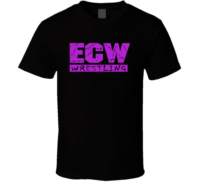 ECW Logo Retro Classic Wrestling T Shirt