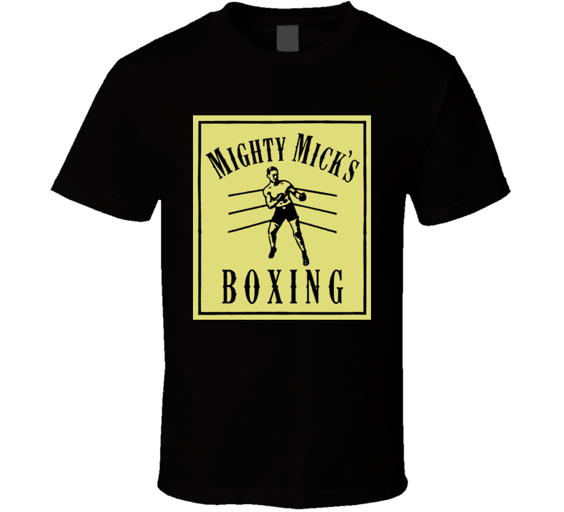 Mighty Mick's Boxing Gym Rocky Balboa Creed Movie T Shirt