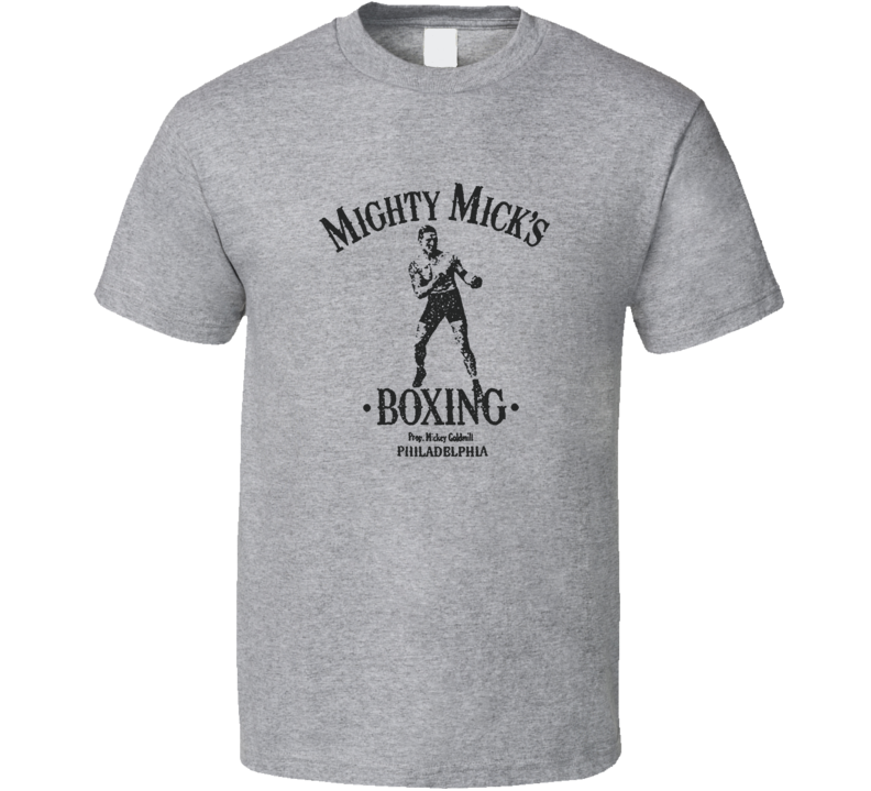 Mighty Mick's Boxing Philadelphia Gym Rocky Balboa Creed Movie T Shirt