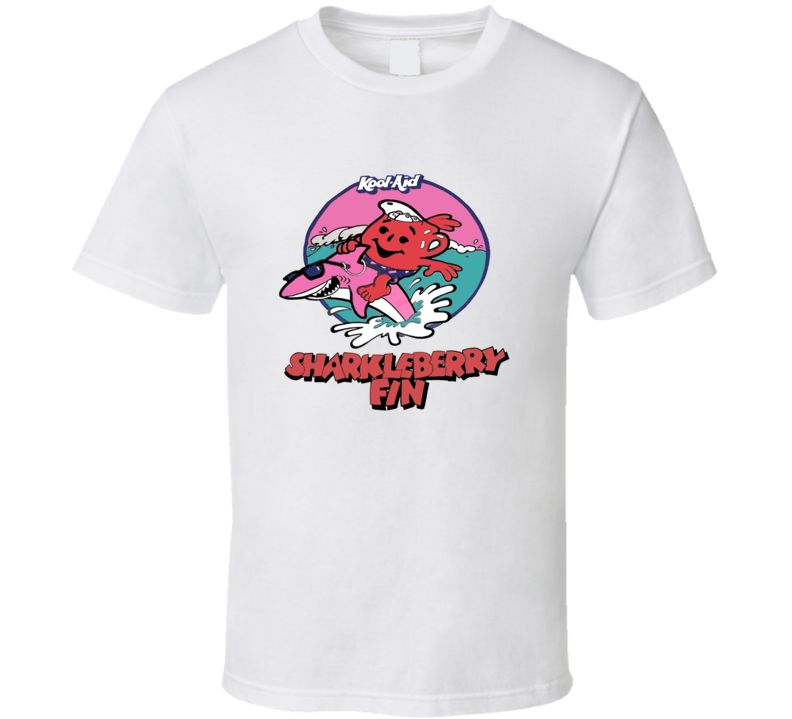 Kool Aid Sharkleberry Fin Retro T Shirt