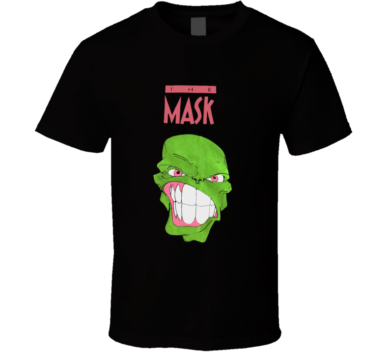 The Mask Cartoon Retro Jim Carrey T Shirt