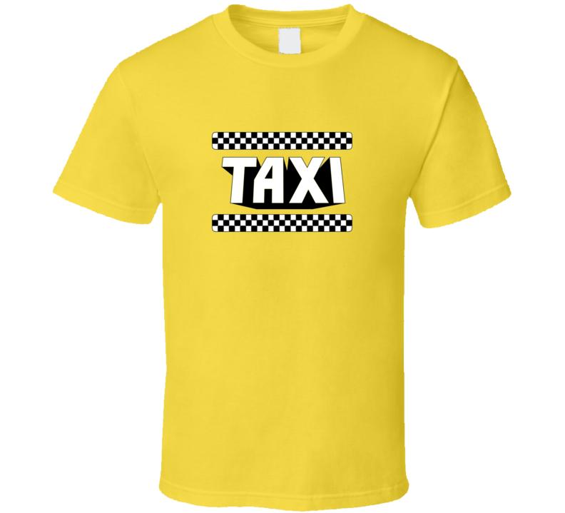 Taxi Retro TV Show T Shirt