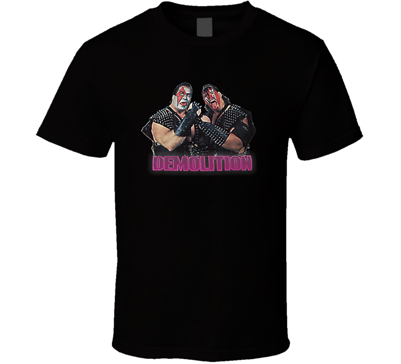 Demolition Axe and Smash Retro Wrestling T Shirt
