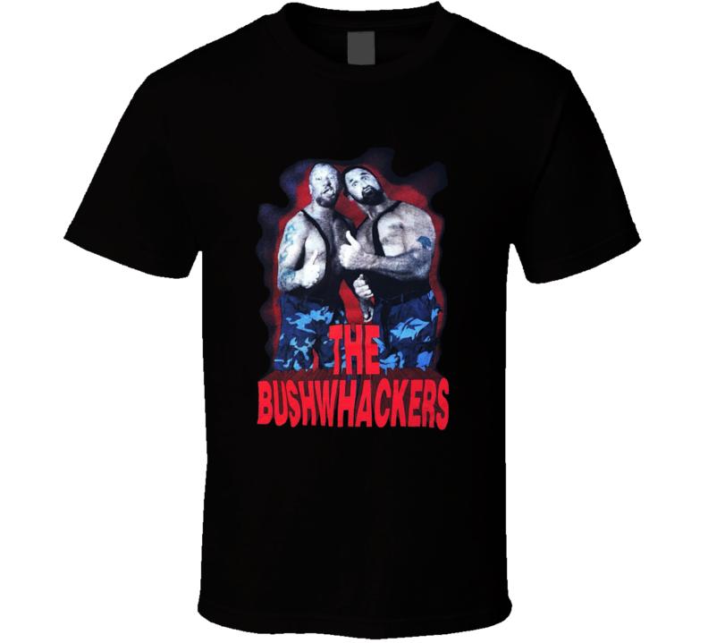 The Bushwackers Retro Wrestling T Shirt