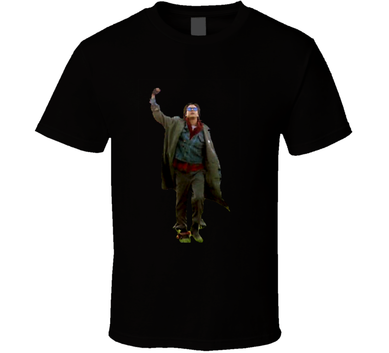 The Breakfast Club Bender Final Scene Fist Pump Classic Movie T Shirt