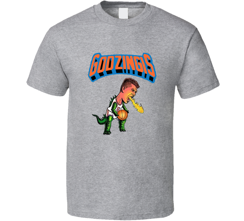 Kristaps Porzingis Godzingis New York Knicks Basketball Sports T Shirt