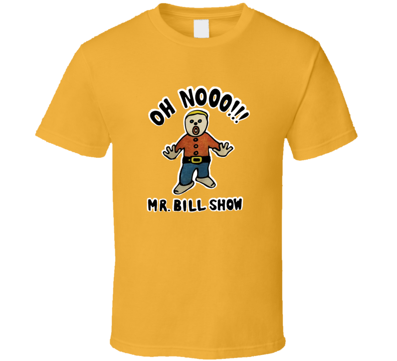 Mr. Bill Show SNL Retro TV T SShirt T Shirt
