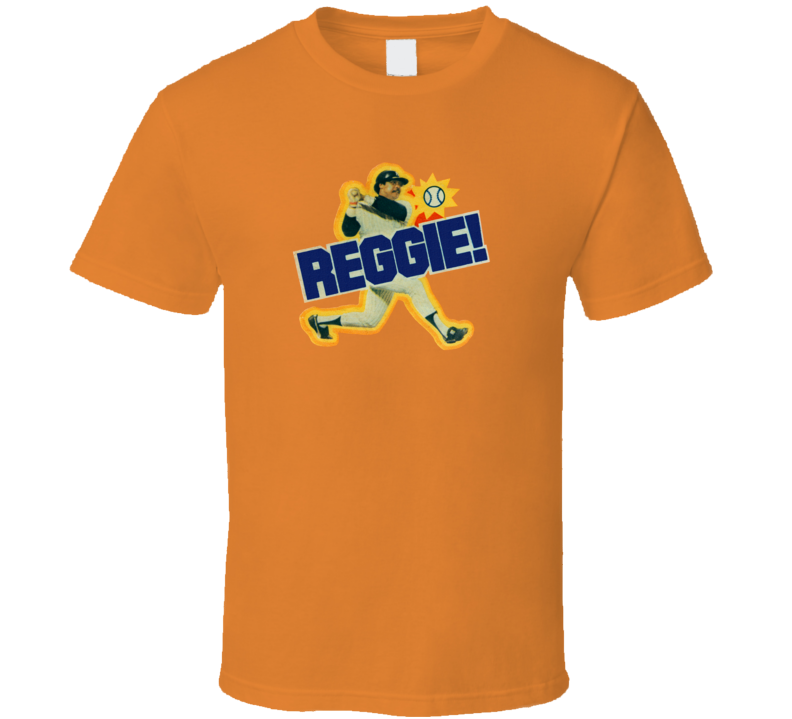 Reggie Jackson Reggie Bar Retro Candy T Shirt