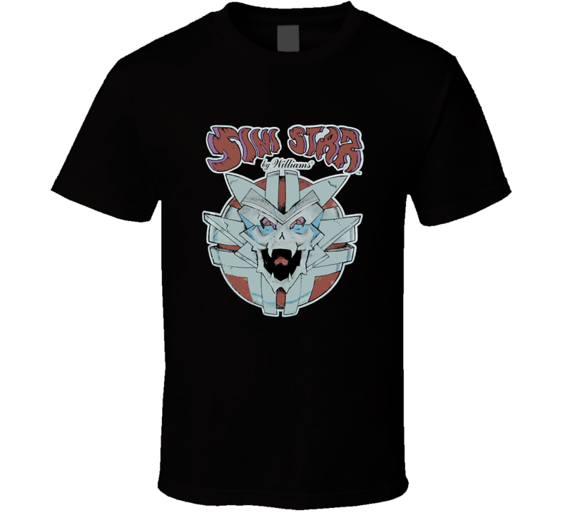 Sinistar Retro Arcade Video Game T Shirt