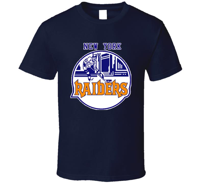 New York Raiders WHA Hockey Retro T Shirt