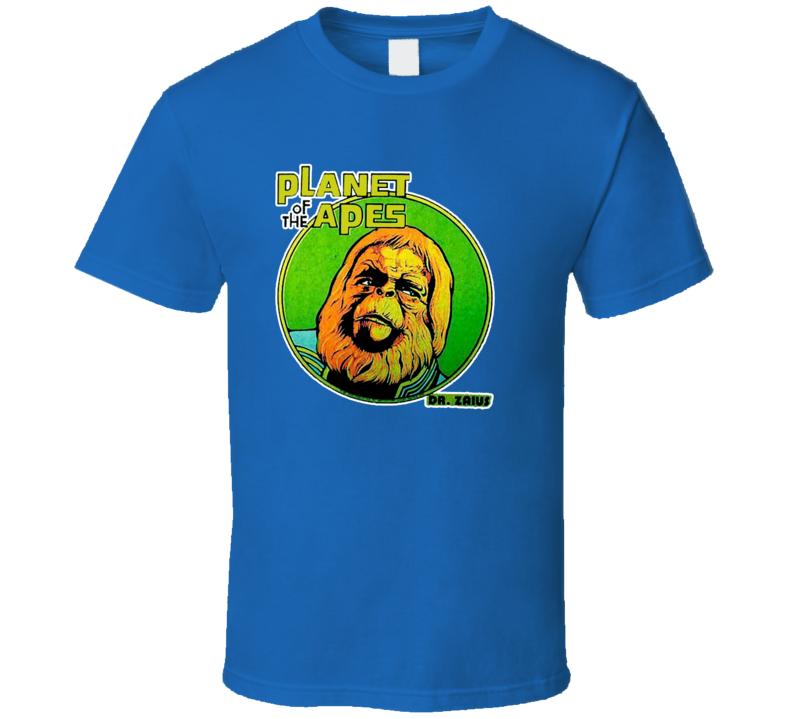 Planet of the Apes Original Dr. Zaius Retro Movie T Shirt
