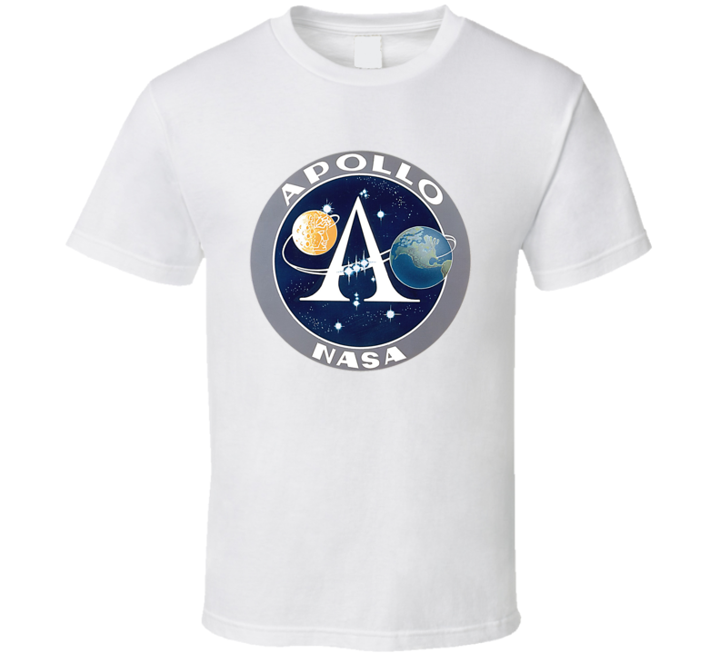 NASA Apollo Mission Retro Moon Landing T Shirt