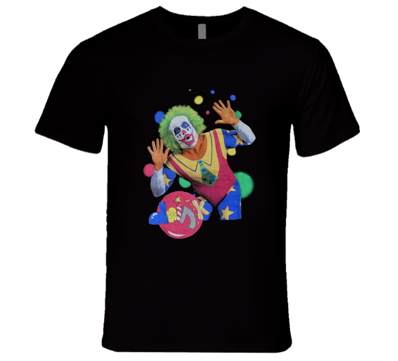 Doink The Clown Retro WWE Wrestling T Shirt
