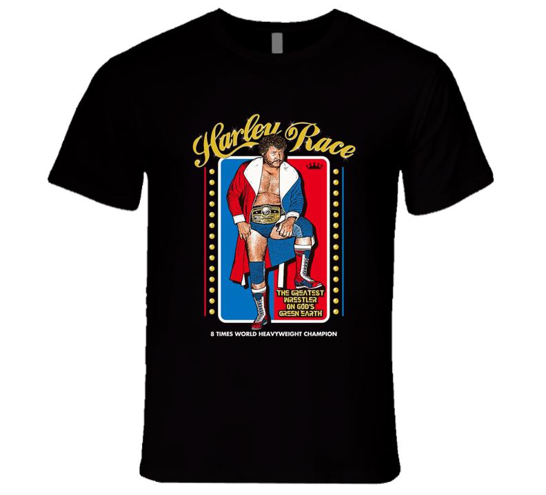 Harley Race Classic Retro Wrestling T Shirt
