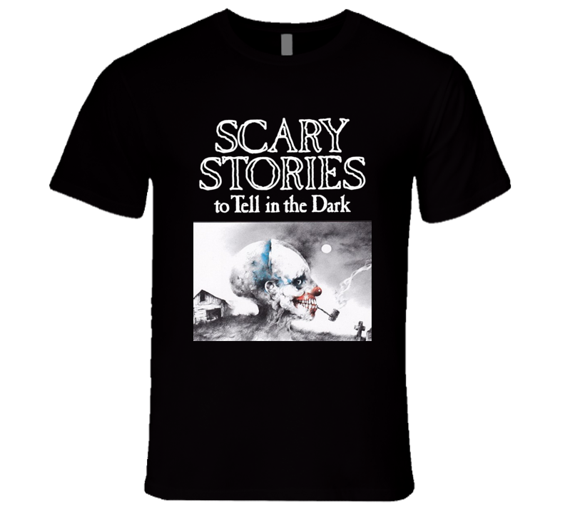 Scary Stories to Tell In the Dark Classic Horror Retro Book Black T Shirt