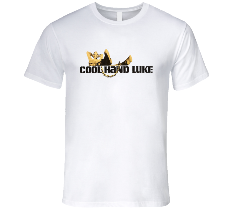 Cool Hand Luke Paul Newman Poster Classic Retro Movie T Shirt