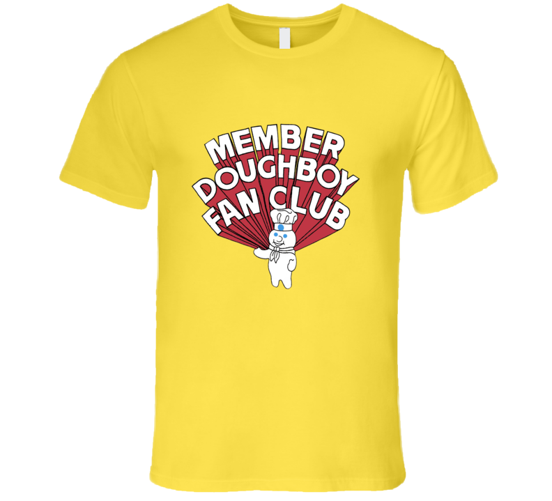 Pillsbury Doughboy Fan Club Retro T Shirt