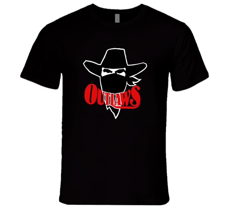 Oklahoma Arizona Outlaws USFL Retro Sports T Shirt